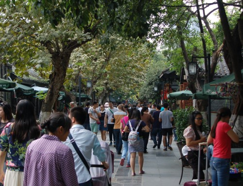 Spend an afternoon at Kuanzhai Alley in Chengdu while doing your internship in China