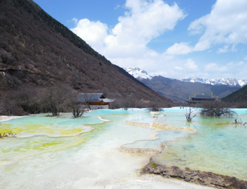 HuangLong, wonderful place in Sichuan province –a must visit during your internship in Chengdu