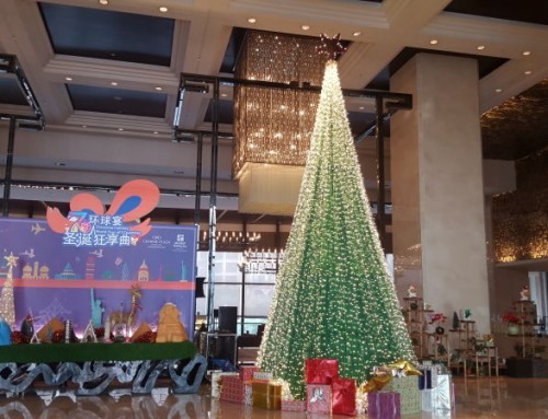 Christmas in the hotel during your internship