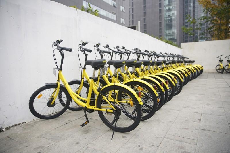 sharing bikes