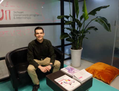 Ancor's internship experience in an international company in China
