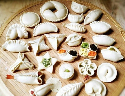 Unique dumpling Party for international interns in China